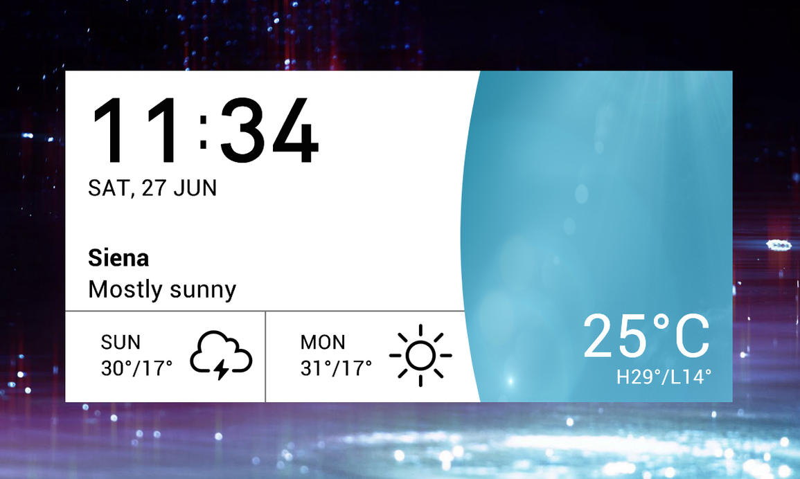 LG G4 Weather 3 v3 for xwidget by jimking