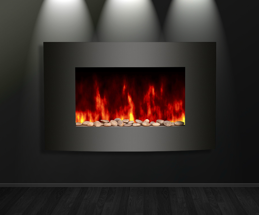Sandstone Virtual Fireplace Animated For Xwidget By Jimking On