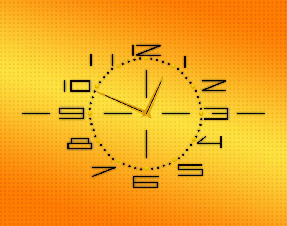 Slava Clock for xwidget