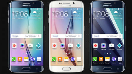 Samsung Galaxy S6 Edge Widget for xwidget