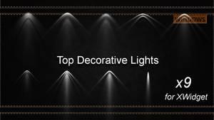Top Decorative Lights for xwidget