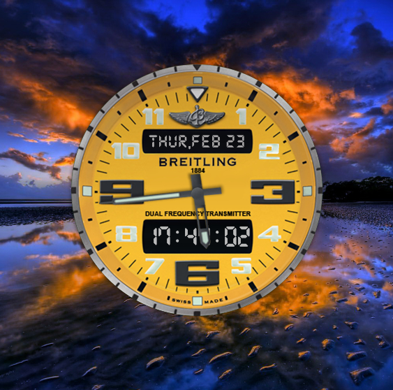 Breitling Watch for xwidget by Jimking