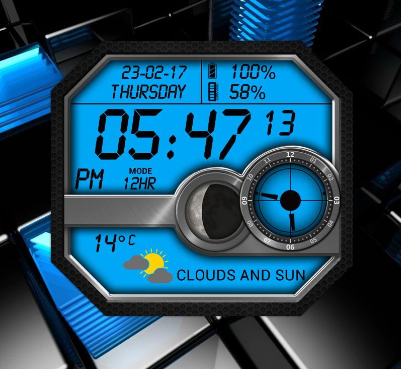Microsonic Watch for xwidget by Jimking