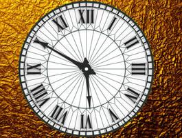 Antique Clock HD for xwidget