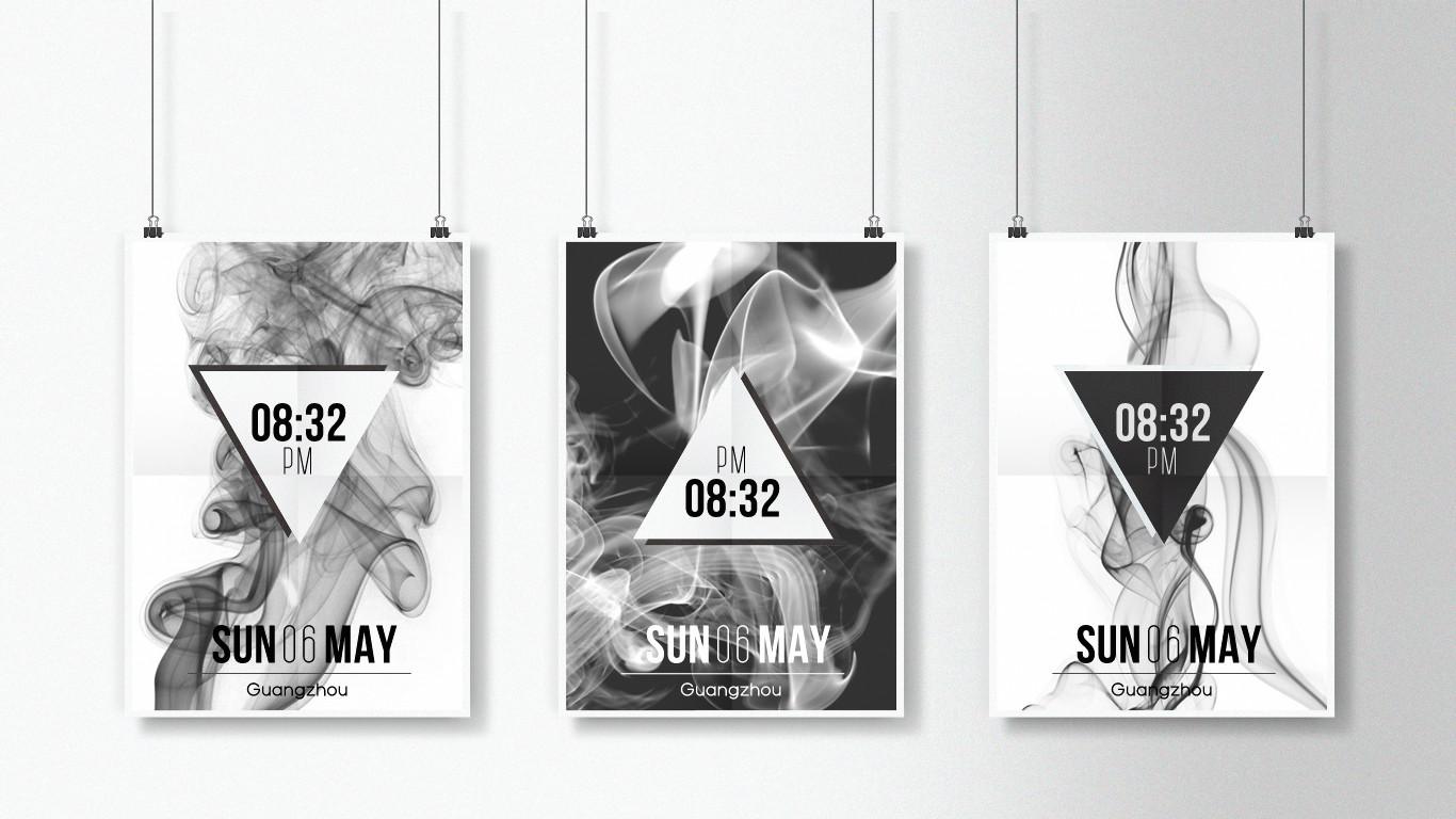 Smoky Poster Widget for xwidget by Jimking
