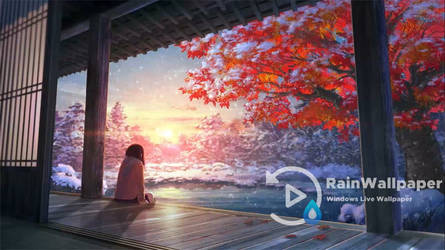 Anime Winter Snow Scenery