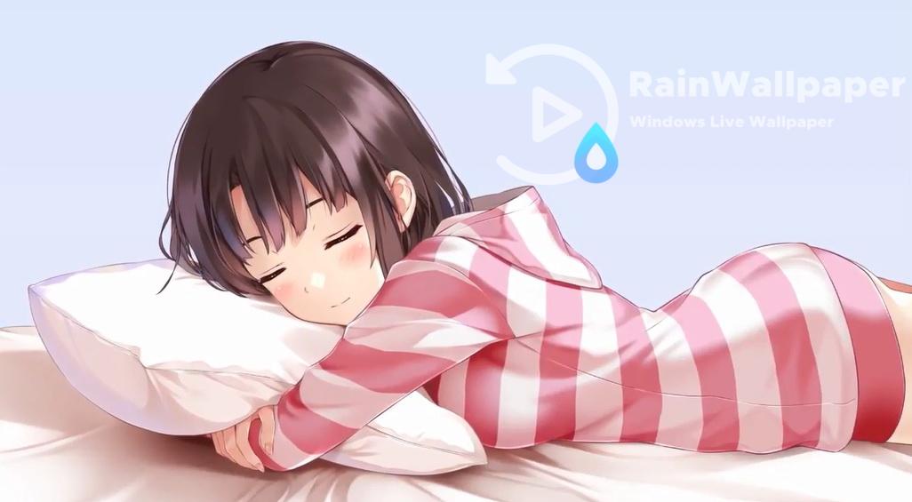Adorable Anime Girl Sleeping By Jimking On Deviantart