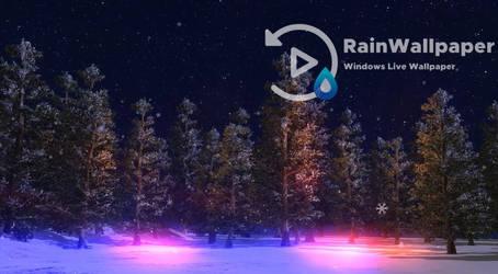 Christmas Winter Scene by Jimking