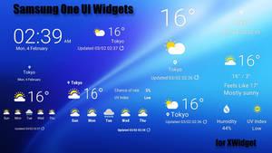 Samsung One UI Widgets for xwidget