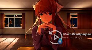 Blinking Monika