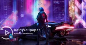 Cyberpunk 2077 Rain