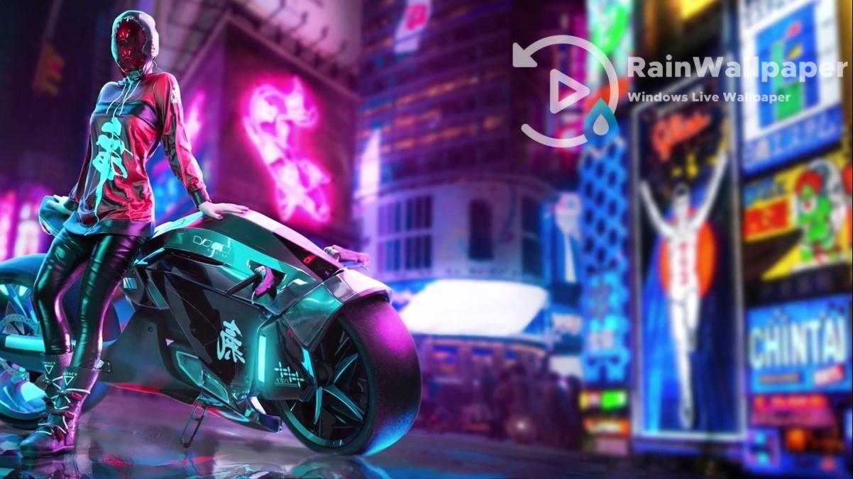 Cyberpunk Biker By Jimking On Deviantart
