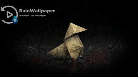 Rain Origami by Jimking