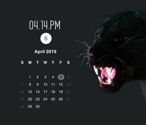 Cordia Calendar for xwidget by Jimking