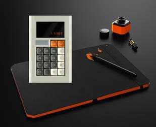 Mini Calculator for xwidget by Jimking