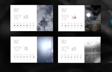 Anima Weather for xwidget (animated) by Jimking