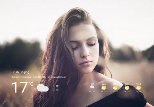 Polo Weather for xwidget by Jimking