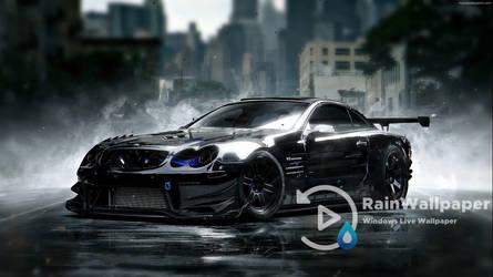 Black Race Car by Jimking