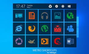 Metro Shortcuts for xwidget