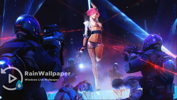 Cyberpunk 2077 Stripper Girl