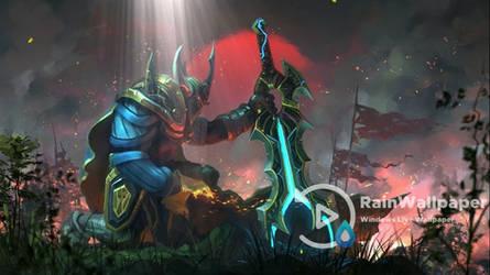 Wraith King Dota 2 by Jimking