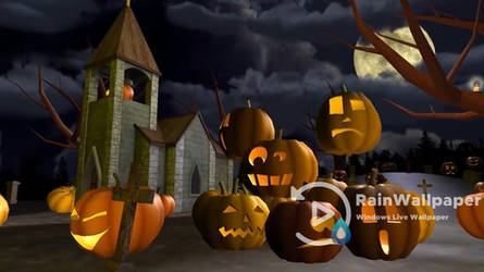 Scary Halloween 3D LWP by Jimking