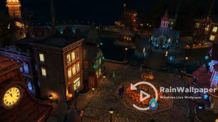 Halloween Village by Jimking