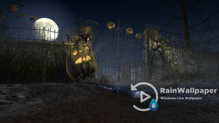 Halloween Graveyard 3D by Jimking