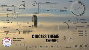 Circles Theme for xwidget