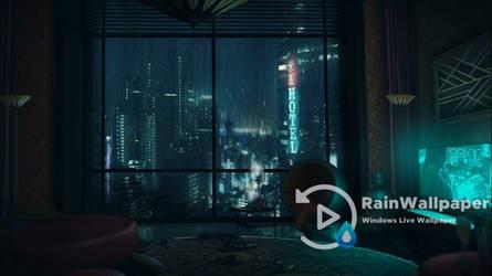 Apartment Rain Window by Jimking