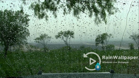 Rain on Window Relax by Jimking