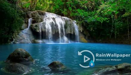 Jungle Waterfall by Jimking