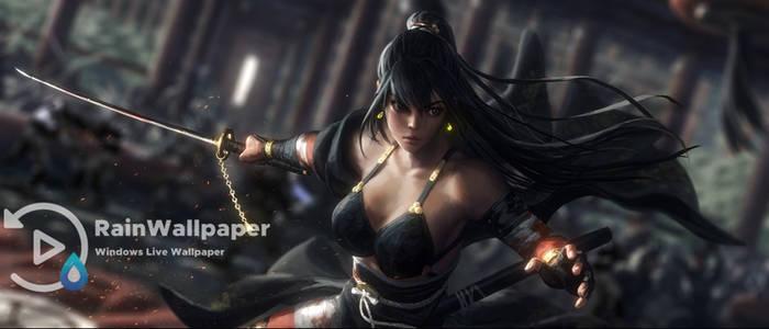 Woman Samurai Warrior by Jimking