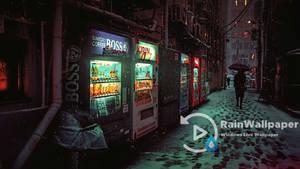 Winter Japan Alley