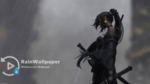 Girl Samurai Rain