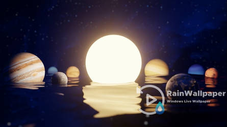 Floating Solar System by Jimking