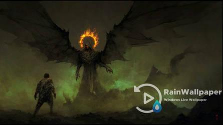 Demon Fire Halo by Jimking