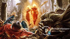 Dragon Ball VS DC