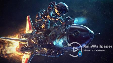 Rocket Spaceman by Jimking