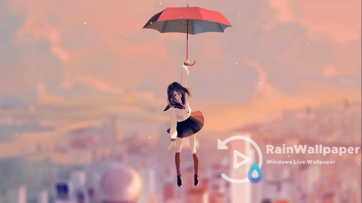 Anime Umbrella Girl By Jimking On Deviantart