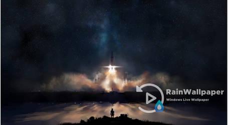 Rocket Night Launch by Jimking
