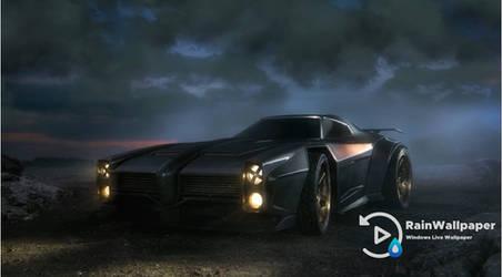 Black Supercar by Jimking