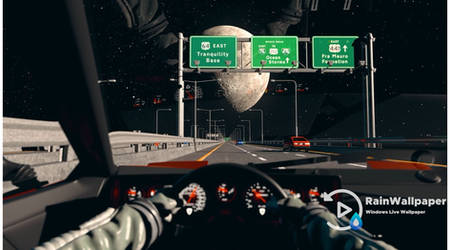 Drive to the Moon by Jimking