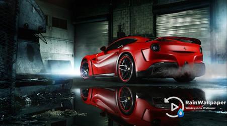 Red Ferrari 458 by Jimking