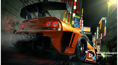 Orange GTR by Jimking