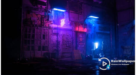 Neon Alley by Jimking