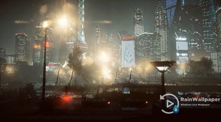 Raindrops Shanghai by Jimking