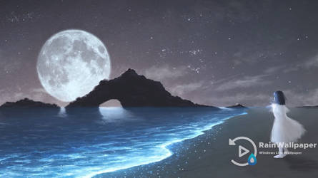 Glowing Waves by Jimking