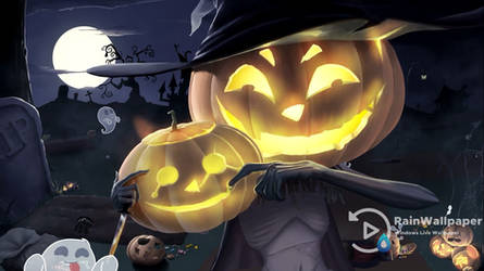 Cool Halloween Live Wallpaper by Jimking