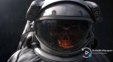 Skull Spaceman by Jimking